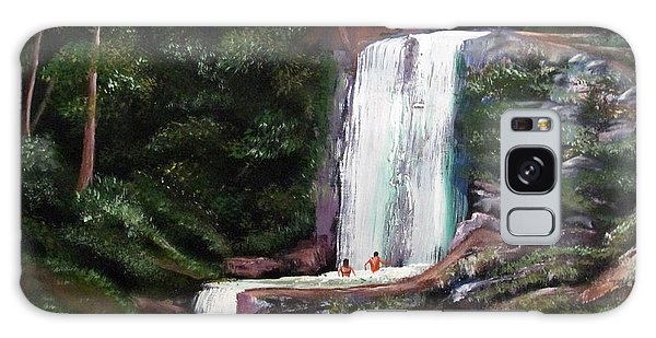Las Marias Puerto Rico Waterfall Galaxy Case by Luis F Rodriguez