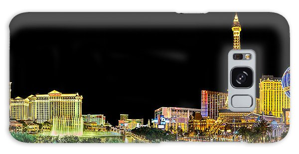 Las Vegas At Night Galaxy Case by Az Jackson