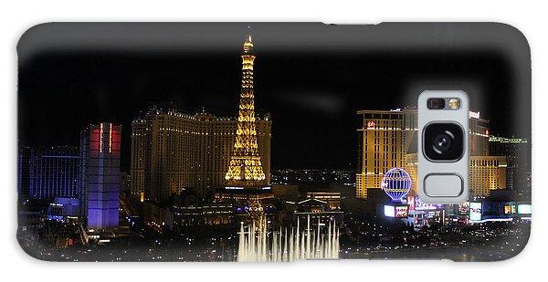 Las Vegas By Night Galaxy Case