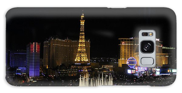 Las Vegas By Night Galaxy Case
