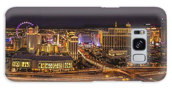 Las Vegas Strip Galaxy Case by Roman Kurywczak
