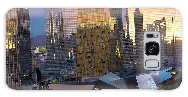 Las Vegas Sunrise Reflection Galaxy Case
