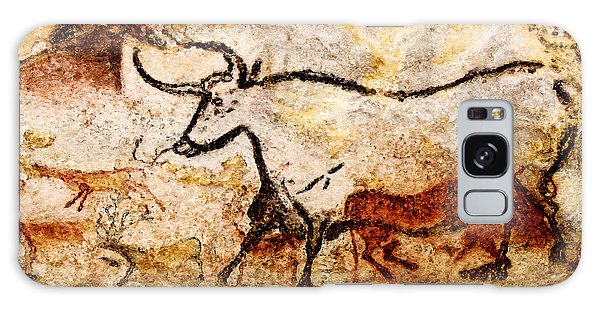 Lascaux Hall Of The Bulls - Aurochs Galaxy Case