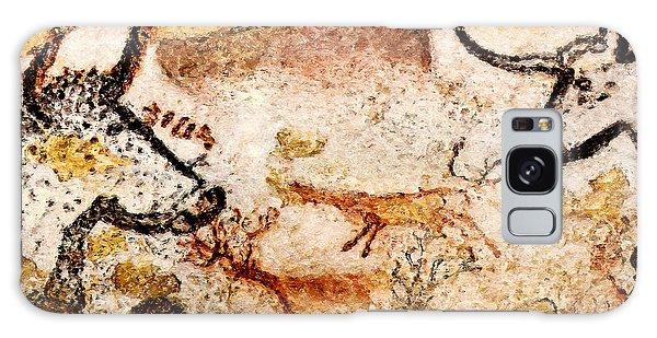 Lascaux Hall Of The Bulls - Deer Between Aurochs Galaxy Case