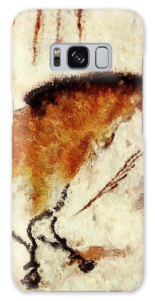 Lascaux Prehistoric Horse Detail Galaxy Case