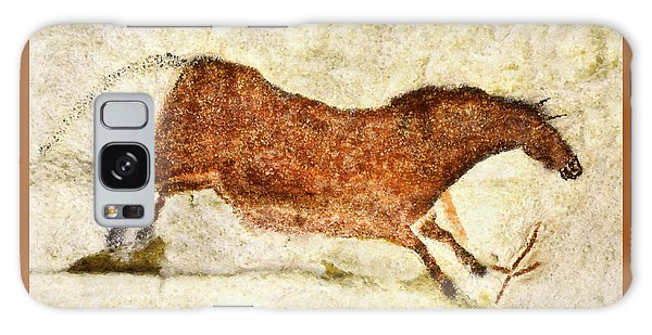 Lascaux Red Horse Galaxy Case
