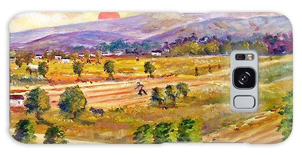 Lasithi Valley In Greece Galaxy Case