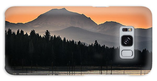 Lassen In Autumn Glory Galaxy Case