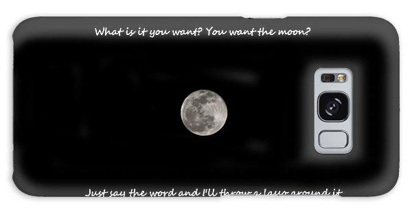 Lasso The Moon Galaxy Case