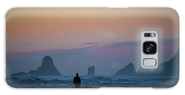 Galaxy Case featuring the photograph Last Colors by Matthew Chapman