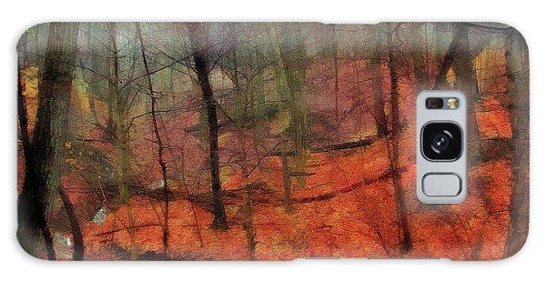 Last Days Of Autumn Galaxy Case by Cedric Hampton