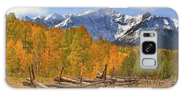 Galaxy Case featuring the photograph Last Dollar Road - Telluride - Colorado by Jason Politte