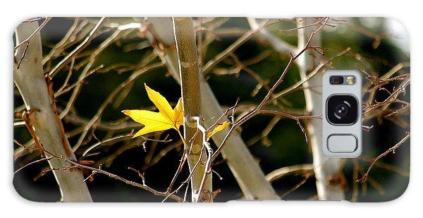 Last Leaf Galaxy Case by Kume Bryant