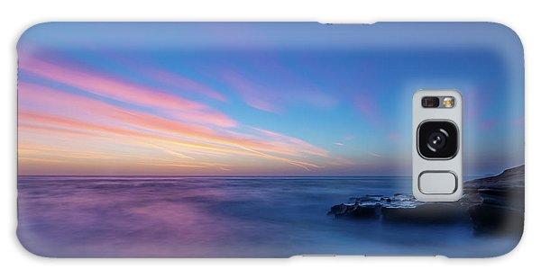 Last Light In April, Sunset Clifs Galaxy Case