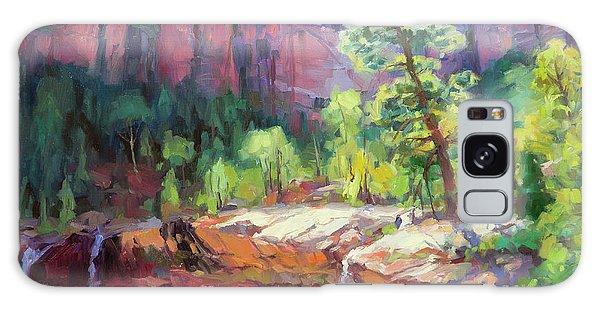 National Park Galaxy Case - Last Light In Zion by Steve Henderson