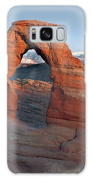 Last Light On Delicate Arch  Galaxy Case