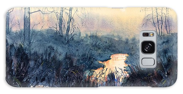 Last Light On Skipwith Marshes Galaxy Case