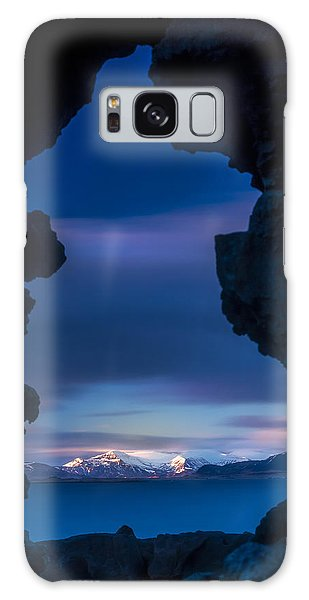 Last Light Through Lava Galaxy Case
