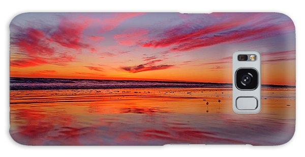 Last Light Topsail Beach Galaxy Case by Betsy Knapp