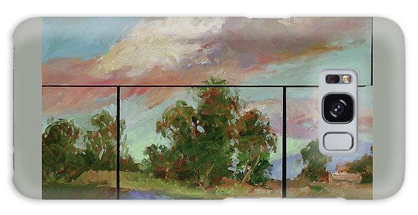 Betty Billups Galaxy Case - Last Of Sand Creek  - Plein Air by Betty Jean Billups