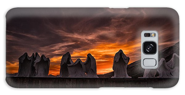 Last Supper At Sunset Galaxy Case by Janis Knight