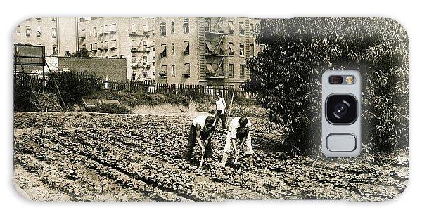 Last Working Farm In Manhattan Galaxy Case by Cole Thompson