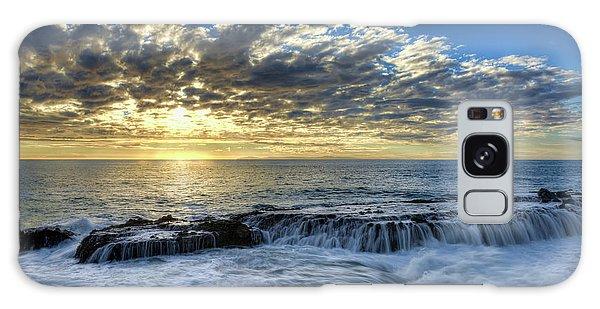 Late Afternoon In Laguna Beach Galaxy Case by Eddie Yerkish