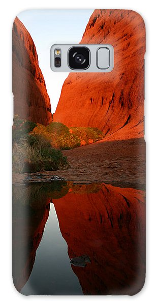 Late Afternoon Light And Reflections At Kata Tjuta In The Northern Territory Galaxy Case