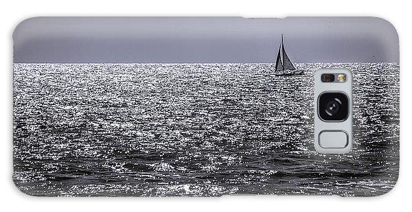 Sailboat Off The Coast At San Diego Galaxy Case