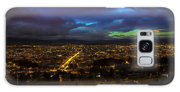 Late Dusk View Of Cuenca From Turi Galaxy Case