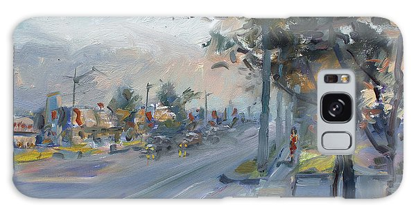 Evening Galaxy Case - Late Evening In Guelph Street Georgetown by Ylli Haruni