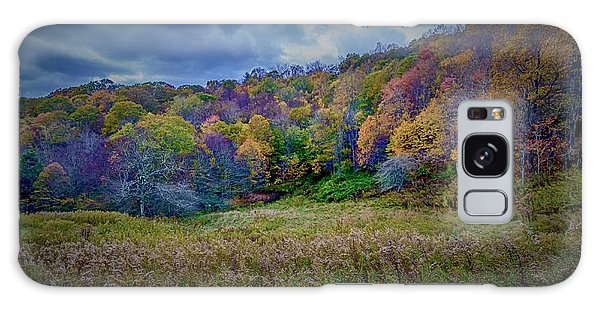 Late Fall On Green Knob Trail Galaxy Case