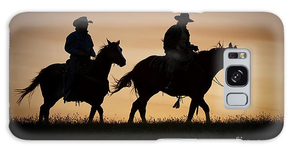 Late For Supper Galaxy Case by Sandra Bronstein