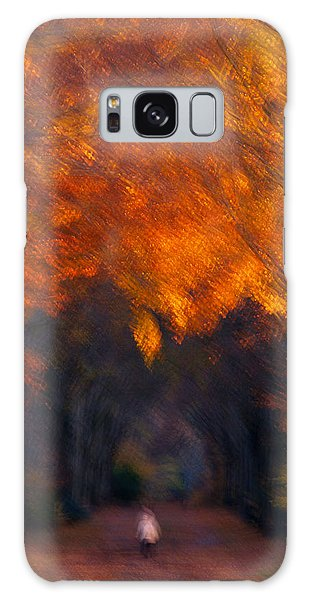 Galaxy Case featuring the photograph Late Nature Walk. by Luc Van de Steeg