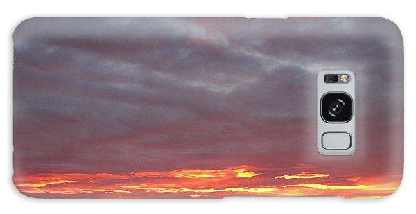 Late Prairie Sunrise Galaxy Case