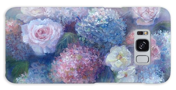 Late Summer Bouquet Galaxy Case by Bonnie Goedecke