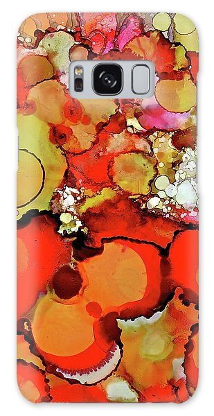 Late Summer Flowers Galaxy Case
