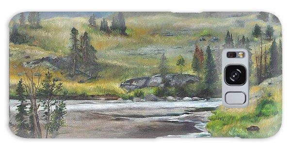 Late Summer In Yellowstone Galaxy Case