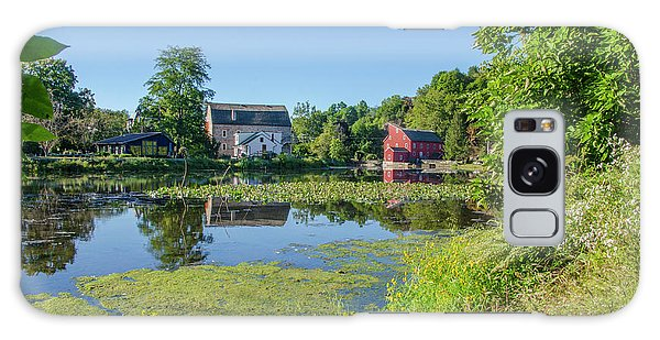 Late Summer - The Red Mill  On The Raritan River - Clinton New J Galaxy Case by Bill Cannon