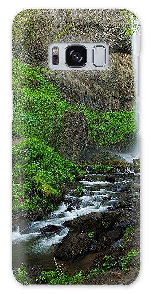 Latourell Falls Oregon Galaxy Case