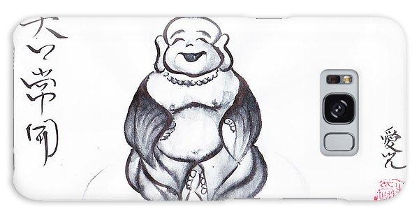 Laughing Buddha Galaxy Case