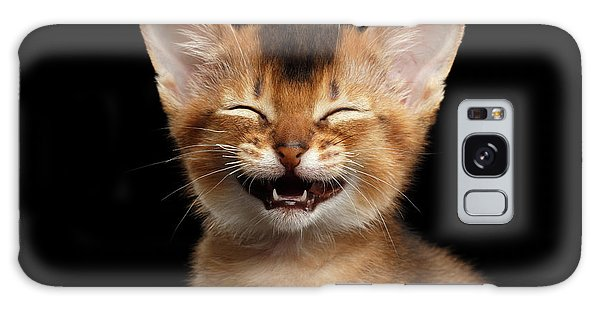 Laughing Kitten  Galaxy Case