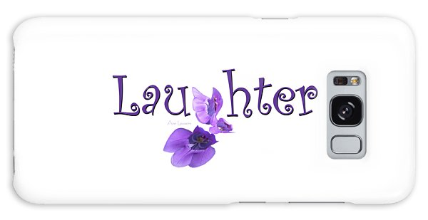 Laughter Shirt Galaxy Case
