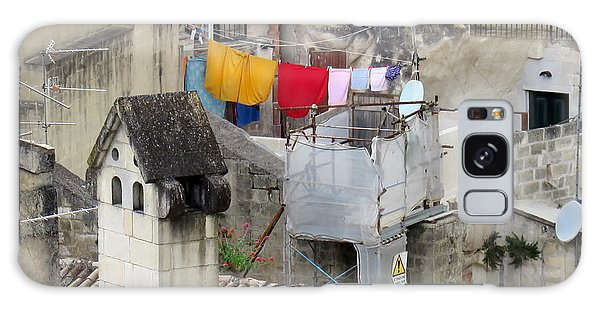 Laundry Day In Matera.italy Galaxy Case