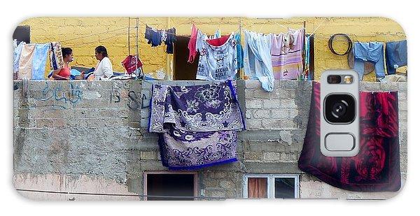 Laundry In Guanajuato Galaxy Case
