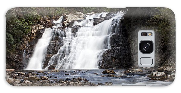 Laurel Falls In Spring #1 Galaxy Case by Jeff Severson