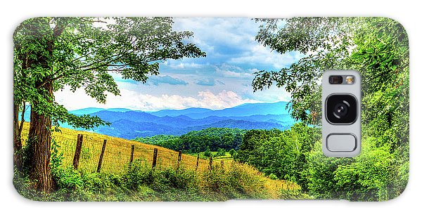 Laurel Hill View Galaxy Case by Dale R Carlson