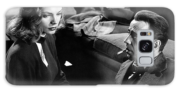 Lauren Bacall Humphrey Bogart Film Noir Classic The Big Sleep 1 1945-2015 Galaxy Case
