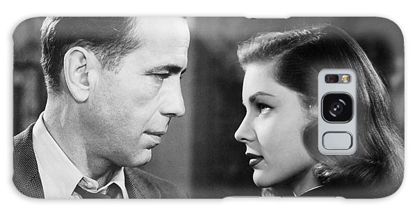 Lauren Bacall Humphrey Bogart Film Noir Classic The Big Sleep 2 1945-2015 Galaxy Case