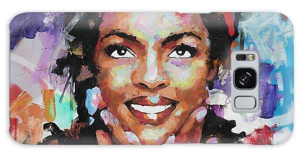 Lauryn Hill Galaxy Case by Richard Day